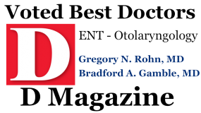 D Magazine Voted Best ENT Doctors